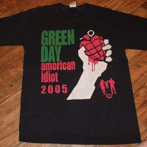Other - Green  Day Concert Tour Shirt 2005